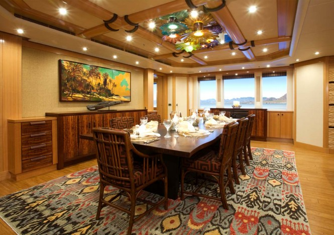 Yacht ARIANNA -  Formal Dining